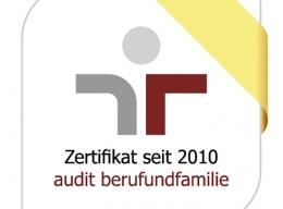 Zertifikat audit berufundfamilie