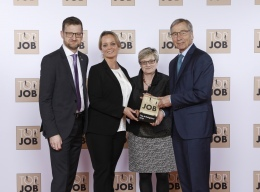 """Preisverleihung TOP JOB-Siegel für das """"Werk"""""""