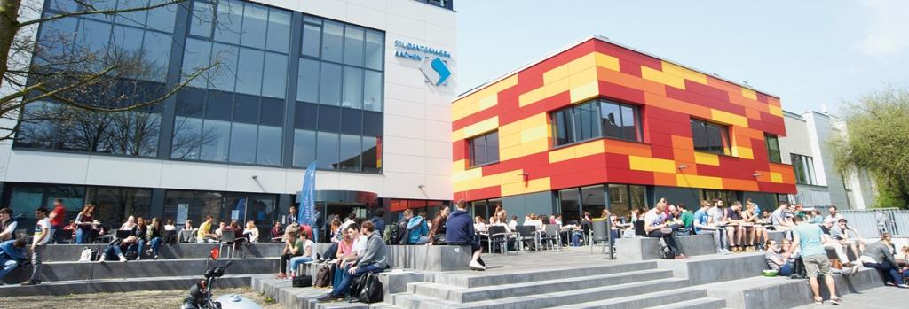 Hauptgebäude Studierendenwerk