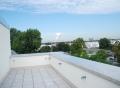 Vorschau: Ausblick vom Balkon des neuen Studierenden-Wohnheims in der Berndkasteler Str.