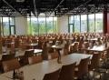 Vorschau: Mensa am Uni-Campus mit Blick auf die Studierendenwohnanlage Kurt-Schumacher-Straße 8 - 22