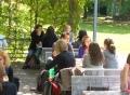 Vorschau: Terrasse der Cafeteria Blau