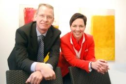 stellv. Geschäftsführer Stefan Kobilke und Geschäftsführerin Dr. Alexandra Krone